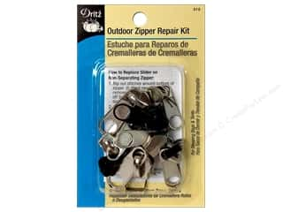 Dritz Zipper Repair Kit Outdoor Assorted