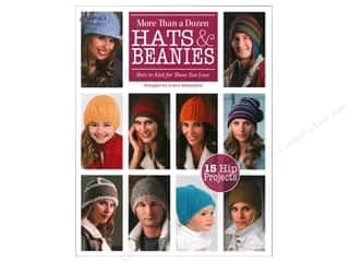 yarn  books: Knit More Than A Dozen Hats &amp; Beanies Book