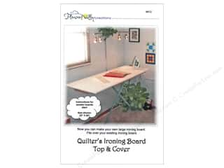 Home Decor Patterns: Pleasant Valley Creations Quilter's Ironing Board Top & Cover Pattern