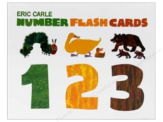 Crafting Kits Chronicle Books: Chronicle Eric Carle Number Flash Cards