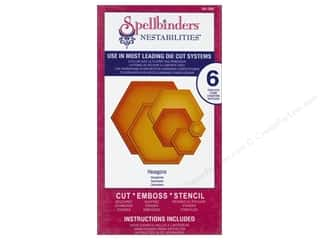 Spellbinders Nestabilities Die Hexagons