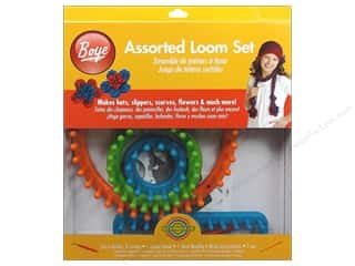 Yarn & Needlework  Knitting Needles: Boye Loom Knitting Assorted Set