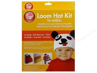Looms Projects & Kits: Boye Loom Hat Kit for Toddlers