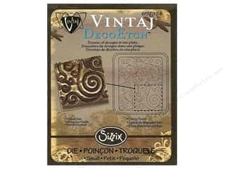 Sizzix Die Vintaj DecoEtch Daisy Swirl (3 piece)