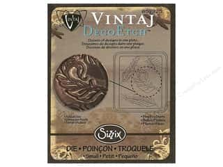 Sizzix Die Vintaj DecoEtch Fine Feathers (3 piece)