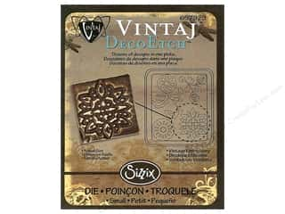 Sizzix Die Vintaj DecoEtch Vintage Embroidery (3 piece)