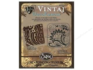 Sizzix Die Vintaj DecoEmboss Floral Decor