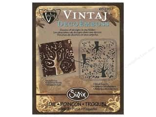 Sizzix Die Vintaj DecoEmboss Mod Trees