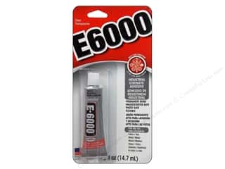 Eclectic Adhesive E6000 .5oz Carded Clear
