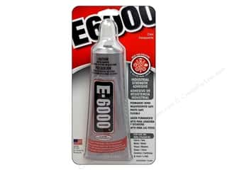 Eclectic Adhesive E6000 2oz Carded Clear
