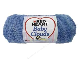 Red Heart Baby Clouds Yarn Sandcastle 4.5 oz.