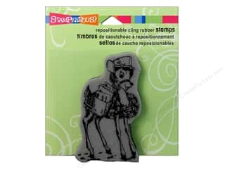 Holiday Sale Stampendous Cling Rubber Stamp: Stampendous Cling Rubber Stamp Special Delivery
