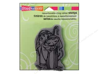 Holiday Sale Stampendous Cling Rubber Stamp: Stampendous Cling Rubber Stamp Precious Nativity