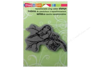 Stampendous Cling Rubber Stamp Snow Bird
