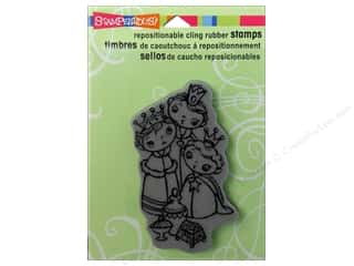 Stampendous Cling Rubber Stamp Wise Kiddos