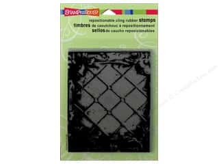Stampendous Cling Rubber Stamp Hall Tin Panel