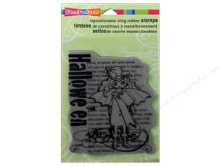 Stampendous Cling Rubber Stamp Hall Sprite