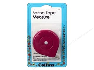 "Collins Tape Measure 60"" Spring"