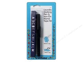 Collins Marking Pen Laundry And Name Tape Kit