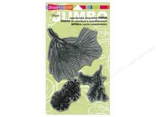Stampendous Cling Rubber Stamp Jumbo Pine Bough