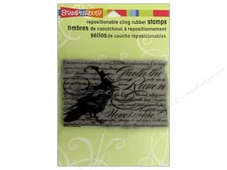 Holiday Sale Stampendous Cling Rubber Stamp: Stampendous Cling Rubber Stamp Hall Nevermore