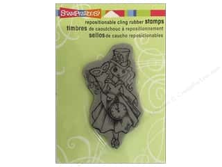 Stampendous Cling Rubber Stamp Hall Magic
