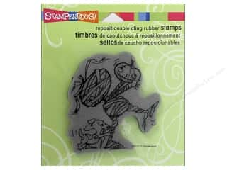 Stampendous Cling Rubber Stamp Hall Mumeek