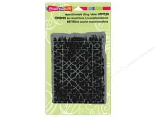 Stampendous Cling Rubber Stamp Hall DecorGrate
