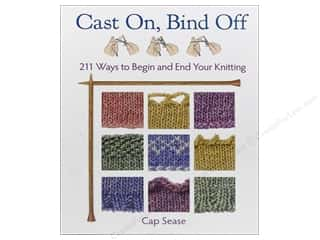 Crochet & Knit: Cast On, Bind Off Book