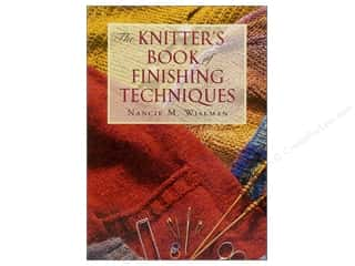 Books $5-$10 Clearance: The Knitter's Book of Finishing Techniques Book
