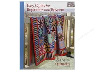 Anything But Boring: Easy Quilts For Beginners and Beyond Book