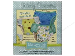 Clearance Babyville Diaper Pins: Dritz Babyville Boutique Totally Trainers Pattern
