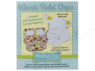 Weekly Specials Clover Bamboo Crochet Hook: Ultimate Pocket Diaper Pattern