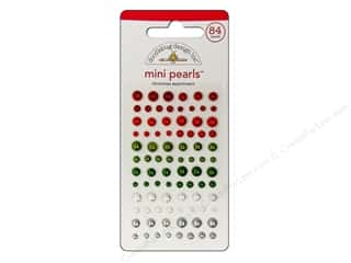 Doodlebug Sticker Mini Pearls Christmas