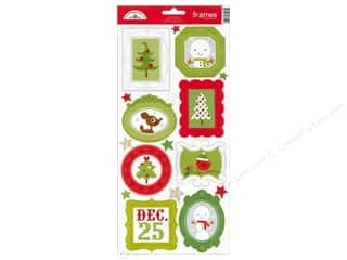 Doodlebug Sticker Cdstk Frames North Pole
