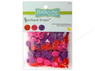 Babyville Snaps Size 20 Sweet Girl 60pc