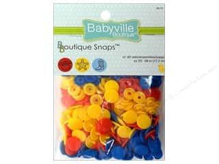 Dritz Babyville Boutique Snaps 1/2 in. Cowbaby 60 pc.