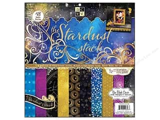 2013 Crafties - Best Scrapbooking Supply DieCuts Paper Stacks: DieCuts 12 x 12 in. Paper Stack Stardust