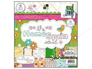 DieCuts with a View 12 x 12: Die Cuts With A View 12 x 12 in. Paper Stack Homespun