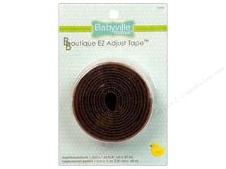 "Babyville EZ Adjust Tape 1.5"" Brown"
