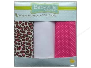 Babyville PUL Fabric PUL Sassy Cheetah & Dot 3pc