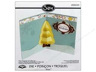 Sizzix Bigz Die Tree Evergreen 3D (Pop-Up)