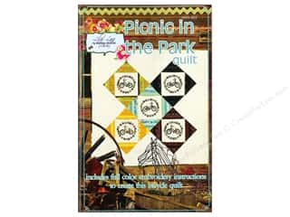 Cross Stitch Cloth / Aida Cloth Aida Pre Finished Items: QuiltWoman.com Picnic In The Park Pattern