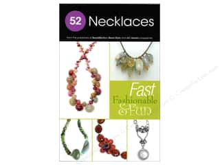 Books & Patterns Beading & Jewelry Making Supplies: Kalmbach 52 Necklaces Book