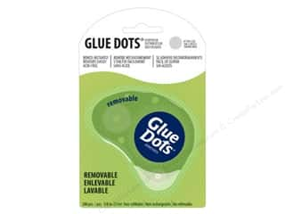 Glues/Adhesives Memory Glue: Glue Dots Dispenser Removable 3/8 in. 200 pc.