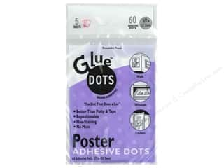 Glue Dots Poster .5&quot; Sheet 60pc