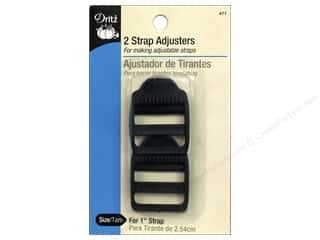 Purse Making Black: Strap Adjusters by Dritz For 1 in. Strap 2pc.