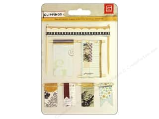 BasicGrey Embellishments Banner Clippings