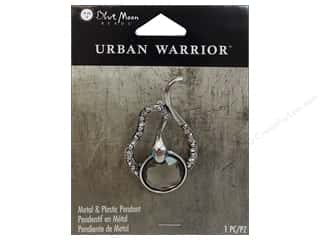 Blue Moon Pendant UW Metal Snake Clear/Ant Silver