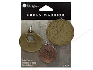 Blue Moon Metal Pendant Urban Warrior Mixed Metal Discs 3 pc.